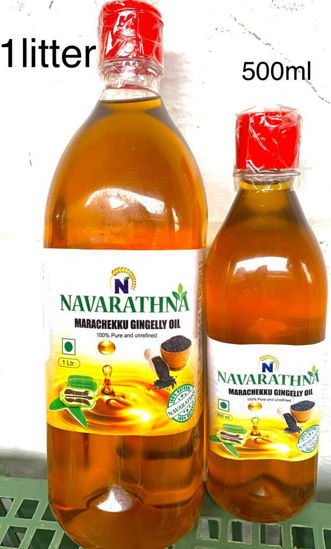 Picture of Marachekku Gingelly Oil 1 Liter (Cold Pressed)