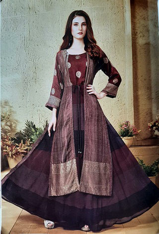Picture of Tops-Long Gown