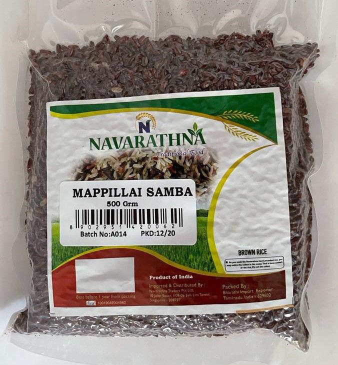 Picture of Mappillai Samba Rice-மாப்பிள்ளை சம்பா (500gm)