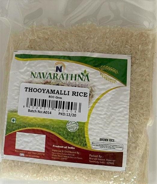 Picture of Hand Pounded Thooyamalli Rice-கைக்குத்தல் தூயமல்லி அரிசி  (500grm)